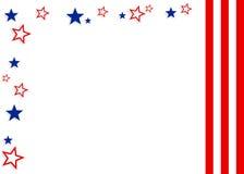 patriotyczny tło Zdjęcie Royalty Free