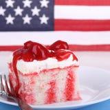 Patriotyczny tort fotografia stock