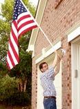 patriotyzm 1 dum Zdjęcie Stock