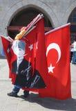 Patriotyzm i prowadzić kampanię w Istanbuł, Turcja zdjęcie royalty free