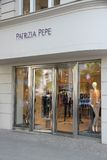 Patrizia Pepe shop. BERLIN, GERMANY - AUGUST 27, 2014: Petrizia Pepe store at (Ku'Damm) Avenue in Berlin. Patrizia Pepe is a fashion brand from Florence founded Stock Photo