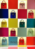 Patrizia Pepe  women bags shop window Royalty Free Stock Image