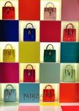 Patrizia Pepe  women bags shop window Royalty Free Stock Image