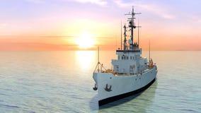 Patrol boat Stock Photo