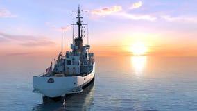 Patrol boat Stock Image