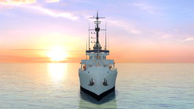 Patrol boat Stock Images