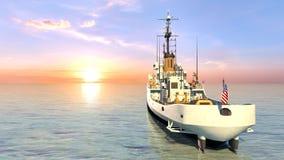 Patrol boat Royalty Free Stock Photography