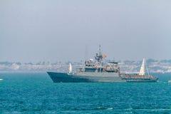 Patrol boat P-73 Vigia Stock Image