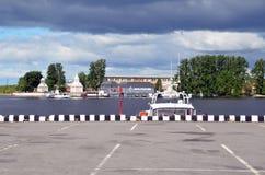 A patrol boat Royalty Free Stock Photo