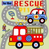 Rescue team Stock Photos