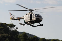 Patrol helicopter Stock Photos