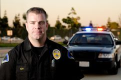Patrol officer Stock Photography