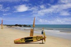 Patrolled beach at Yorkeys Knob Cairns Australia Stock Photography