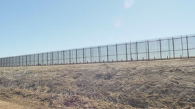 Patrolling the Border on the US and Mexico Border stock footage