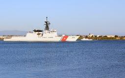 patrolowy straż przybrzeżna statek my Obraz Royalty Free
