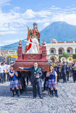Patron Antigua korowód Zdjęcia Royalty Free