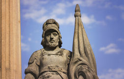 Patron of firemen St. Florian statue Royalty Free Stock Photo