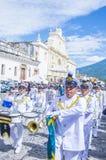 The Patron Saint of Antigua procession Stock Photos
