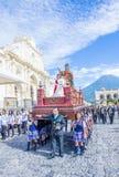 The Patron Saint of Antigua procession Royalty Free Stock Image