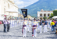 The Patron Saint of Antigua procession Stock Photo