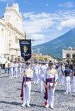The Patron Saint of Antigua procession Stock Image