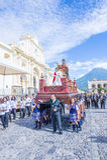 The Patron Saint of Antigua procession Stock Images