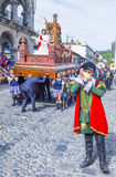 The Patron Saint of Antigua procession Royalty Free Stock Images
