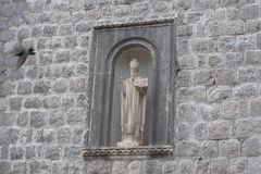Patron Saint of Dubrovnik, Croatia Stock Images