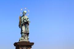 Patron saint Nepomuk Royalty Free Stock Image