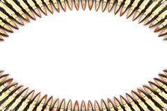 Patrone 7,62 Millimeter-Kaliber. Lizenzfreies Stockfoto