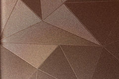 patronen in de stijl van driehoeken Stock Afbeelding