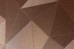 patronen in de stijl van driehoeken Stock Foto
