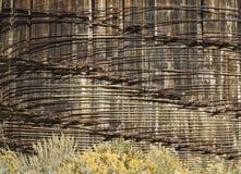 Patronen in een structuur van de watertank Stock Afbeeldingen