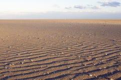Patronen in het zand Royalty-vrije Stock Foto's