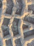 Patronen het zand Stock Fotografie