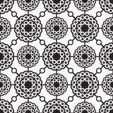 Patronen naadloze cirkels 02 Royalty-vrije Stock Afbeelding