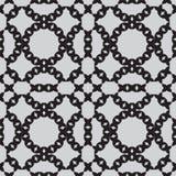 Patronen naadloze zwart-wit Stock Afbeelding