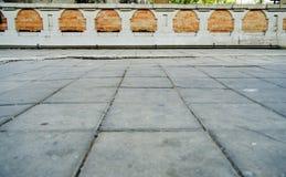 patronen op een tegelvloer of een gang Royalty-vrije Stock Foto