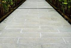 patronen op een tegelvloer of een gang Royalty-vrije Stock Afbeelding