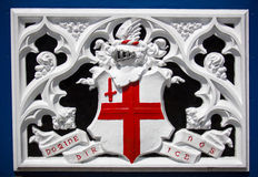 Patronen van de Brug van de Toren in Londen Royalty-vrije Stock Foto