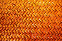Patronen van houten mand Royalty-vrije Stock Fotografie