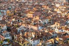 Patronen van huizen in Venetië Royalty-vrije Stock Afbeeldingen