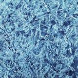 Patronen van ijskristallen Stock Fotografie
