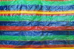 Patronen van zakken die algemeen - gezien in Thailand zijn stock afbeelding