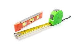 Patronenmeter und Wasserspiegelmessgerät Lizenzfreie Stockfotografie