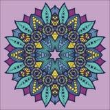 Patroon 04 van de symmetrie stock illustratie