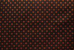 Patroon 1 van de batik Stock Afbeeldingen