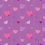 Patroon 1 van de valentijnskaart Royalty-vrije Stock Afbeeldingen