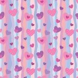 Patroon 1 van de valentijnskaart Royalty-vrije Stock Foto's