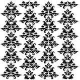 Patroon 2 van het damast Stock Afbeelding